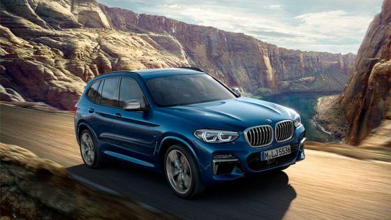 BMW X3 por 499€/mes*