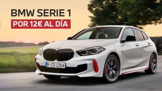 BMW Serie 1 por solo 12€/día